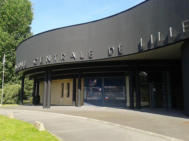 File:Accueil de l'École Centrale de Lille.jpg