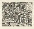 Achior voor Holofernes Geschiedenis van Judit en Holofernes (serietitel), RP-P-1904-3297.jpg