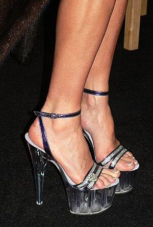 Platform shoe - Lucite platform shoes