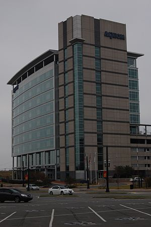 Acxiom - Acxiom Building in downtown Little Rock, Arkansas, 2007