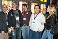 Adam, Michael, Mike, Rob Spallone, Leah at AEE 2007.jpg