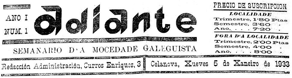 Adiante 5 de xaneiro de 1933