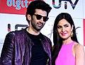 Aditya, Katrina promot film 'Fitoor'.jpg