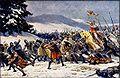 Adolf Liebscher - Vítězství Soběslava I. u Chlumce 18. února 1126.jpg