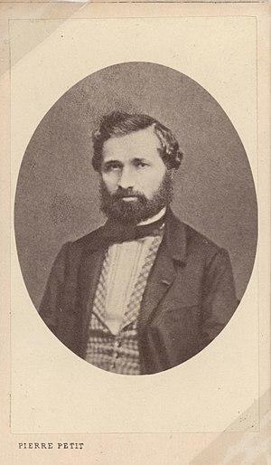 """Adolphe Adam - """"Maestro Adolphe Adam"""". Photograph. Paris, circa 1855"""