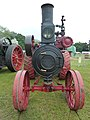 Advance traction engine, front, Abergavenny.jpg