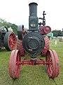 Advance traction engine, front, Abergavenny.jpg