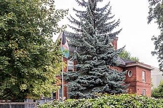 Afghanistan–Canada relations - Afghan embassy in Ottawa, Ontario, Canada.