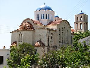 Agios Kirykos church