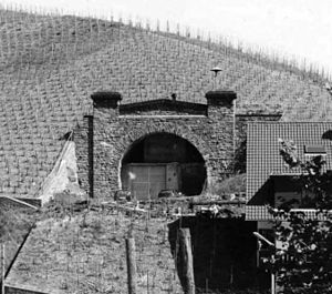 Government bunker (Germany) - One of the never used railway tunnels in the Ahr Valley