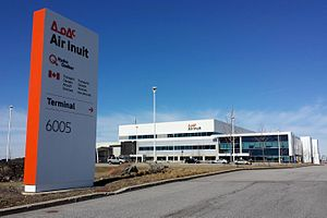 Air Inuit - Air Inuit headquarters at the Montreal-Trudeau Airport