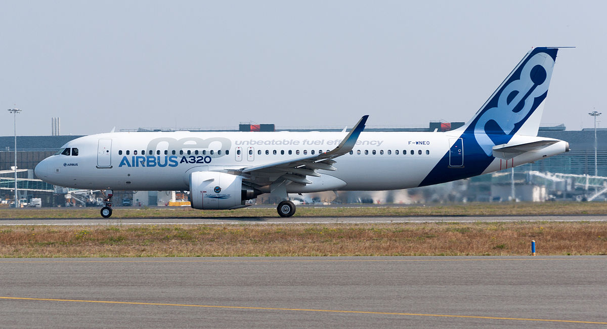 Airbus A320neo Википедия