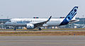 Airbus A320neo first takeoff at Toulouse Blagnac Airport 04.jpg