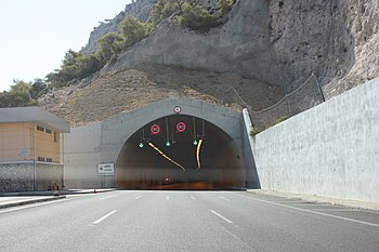 Aithra tunnel in Kakia Skala.jpg