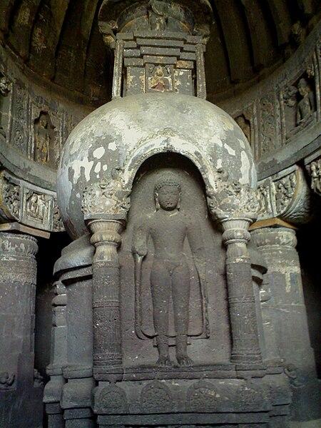 Fichier:Ajanta Caves 2, Maharashtra, India.jpg