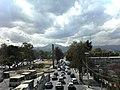Ajusco al fondo desde Cuemanco - panoramio.jpg