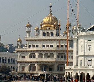 Operation Blue Star - Bhindranwale and his followers occupied Akal Takht in December 1983