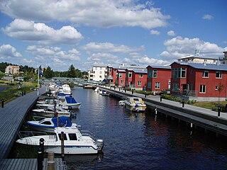 Åkersberga Place in Uppland, Sweden