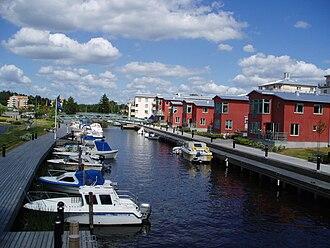 Åkersberga - Åker Canal