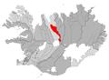 Akrahreppur map.png