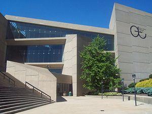 University of Akron - E.J. Thomas Hall on The University of Akron campus