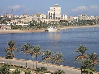 Benghazi City in Cyrenaica, Libya