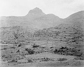 Alagi Amba, perto de Attala - A Expedição Abissínia 1868 Q69840.jpg