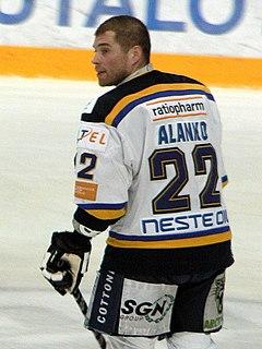 Rami Alanko Finnish ice hockey player