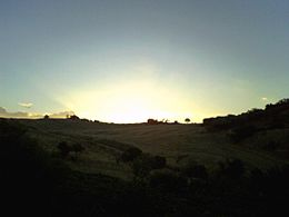 Monti Dauni all'alba