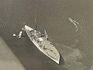 HMAS Albatross (1928) - HMAS Albatross