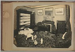 Album of Paris Crime Scenes - Attributed to Alphonse Bertillon. DP263792.jpg