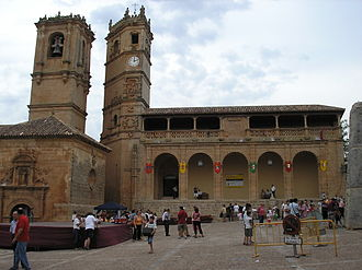 Alcaraz - The Clock, and the Trinity Towers