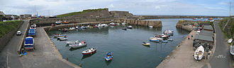 Braye Harbour - Braye Inner harbour – outer harbour and breakwater in the background