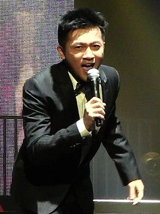 Alec Su - Su performing in Las Vegas, USA, 2012.