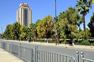 Aleppo Governorate - Aleppo city hall, the seat of the governorate and the city council
