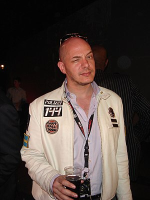 Alex Roy - Alex Roy at the 2007 Gumball 3000 rally launch party