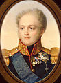 Alexander I of Russia by J.H.Benner (1821, Hermitage).jpg