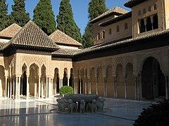 Alhambra - Patio de Leones - Status 2012