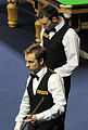 Ali Carter and Fraser Patrick at Snooker German Masters (DerHexer) 2013-01-30 01.jpg