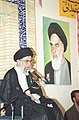 Ali Khamenei meet up with families of martyrs and veterans in Torbat-e Jam 04.jpg