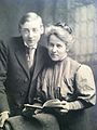 Alice Rich Northrop with her son, John Howard Northrop.jpg