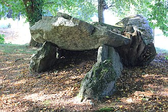 Bignan - The Allée couverte de Kergonfalz