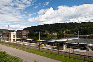 National Register of Historic Places listings in Armstrong County, Pennsylvania - Image: Allegheny River Lock and Dam No. 5