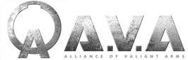 Het logo van Alliance of Valiant Arms.