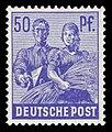 Alliierte Besetzung 1948 955 Maurer, Bäuerin.jpg