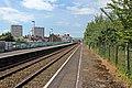Along the eastbound platform, Flint railway station (geograph 4031929).jpg