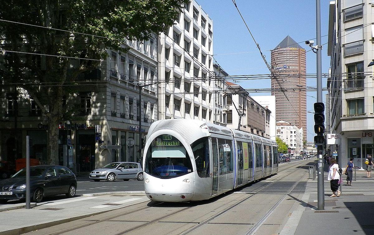 Tramway De Lyon Wikip 233 Dia