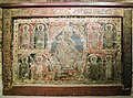 Altar Frontal, Catalan, ca. 1225, Virgin and Child with eight apostles (29458534483).jpg