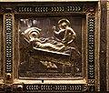 Altare di s. ambrogio, 824-859 ca., retro di vuolvino, storie di sant'ambrogio 03 cristo visita ambrogio malato.jpg