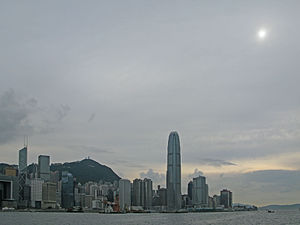 Altostratus translucidus over Hong Kong, China on May 13, 2012.